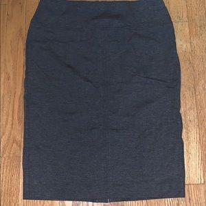 Classic Gray Work Skirt